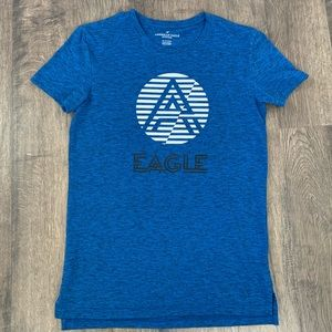 Men's Blue American Eagle T-shirt Size XS